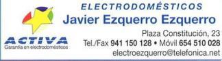Electrodomésticos Javier Ezquerro Pradejón