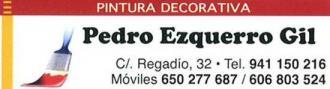 Pinturas y Decoración Pedro Ezquerro Pradejón