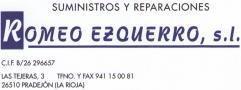 Suministros y Reparaciones Romeo Ezquerro Pradejón
