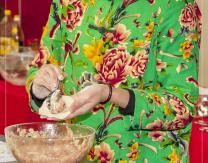 """Show cooking """"street food"""" de cocina asiática fusionada con los hongos pradejoneros"""