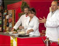 """Show cooking """"street food"""" de cocina venezolana fusionada con los hongos pradejoneros"""