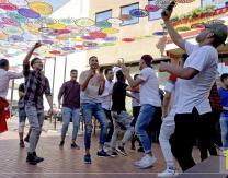 Concierto árabe en Plaza Melchor Ezquerro