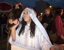 Cabalgata 2018: 1º escena- La Anunciación de María.