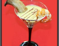 Rosa Chandro cocinó un cóctel de eryngii al horno con espuma de espárragos trigueros, gambita salteada y reducción de Oporto