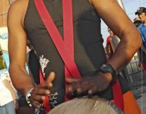Pasacalles Foté-Faré fusionando ritmos y danzas africanas, afro-latinas y sonidos de oriente