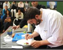 Cocina en directo con Ventura Martinez, cocinero de Chef Nino
