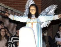 Cablagata 2019: 2º escena- La Aparición del Ángel Gabriel a los pastores