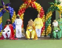 Cabalgata 2019: Reyes Magos y pajes reales preparados para repartir los regalos