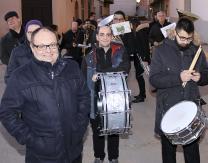 Cabalgata 2019: Banda Municipal acompañando el recorrido de la cabalgata