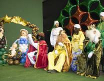 Cabalgata 2018: Reyes Magos y pajes reales preparados para repartir los regalos