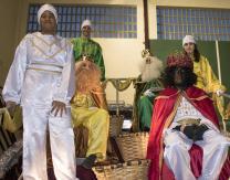 Cabalgata 2018: Reyes Magos y pajes reales en la Carroza Real