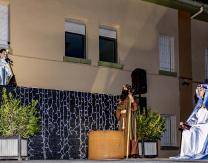 1º escena: Anunciación de María por el Ángel Gabriel