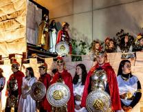 3º escena: Encuentro de los Reyes Magos con el Castillo de Herodes