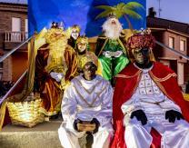 Cabalgata 2020: Los Reyes Magos con sus pajes reales