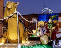 Cabalgata 2020: Los Reyes Magos en su Carroza