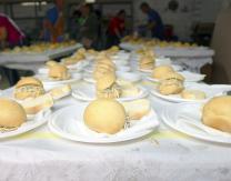 Comida-Degustación ofrecida por el Ayuntamiento en colaboración de las asociaciones