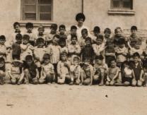 Grupo escolar en los años 60