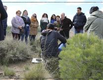 Rutas a los restos arqueológicos de Pradejón