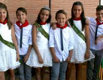 Reinas y Acompañantes Infantiles San Antonio 2016