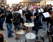 II Cata de Vinos amenizada por la Banda Municipal de Música